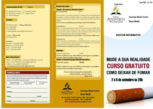 Boletim Informativo20/08/12_capa